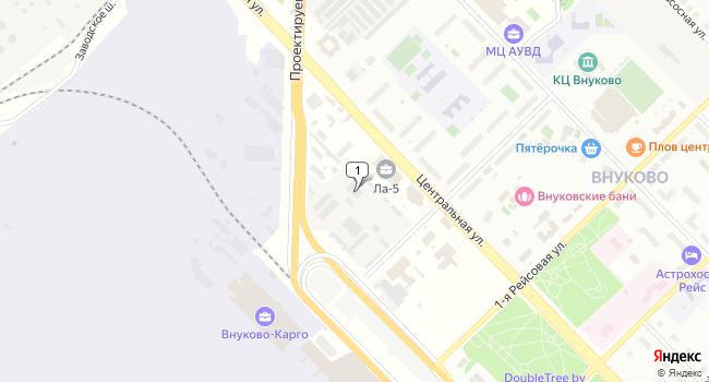 Арендовать офис 100 м<sup>2</sup> в посёлке Внуково по адресу Россия, Москва, поселок Внуково, Центральная улица, 8А