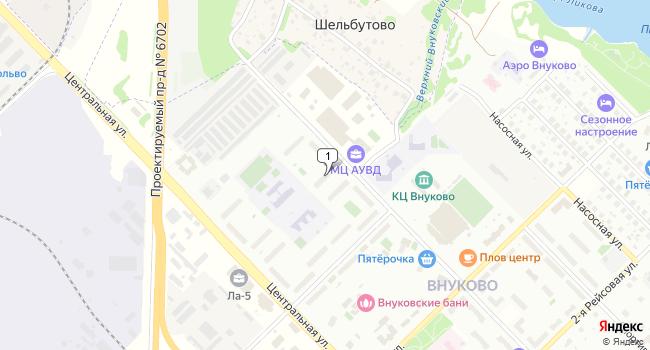 Арендовать склад 2700 м<sup>2</sup> в посёлке Внуково по адресу Россия, Москва, поселок Внуково, Большая Внуковская улица, 5