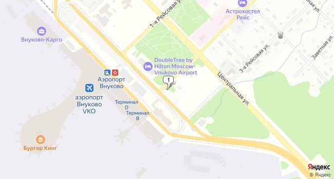 Арендовать склад 300 м<sup>2</sup> в посёлке Внуково по адресу Россия, Москва, поселок Внуково, 2-я Рейсовая улица, вл2