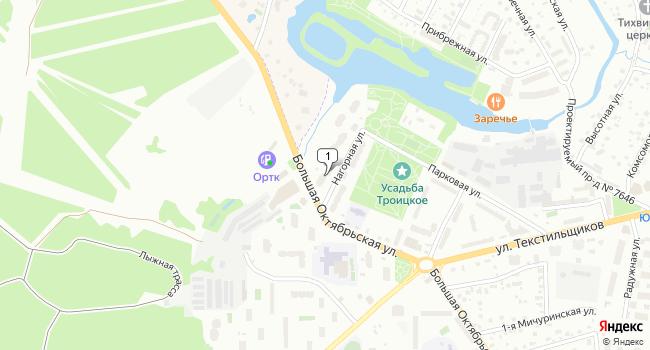 Арендовать склад 130 м<sup>2</sup> в Троицке по адресу Россия, Москва, Троицк, Нагорная улица, 10
