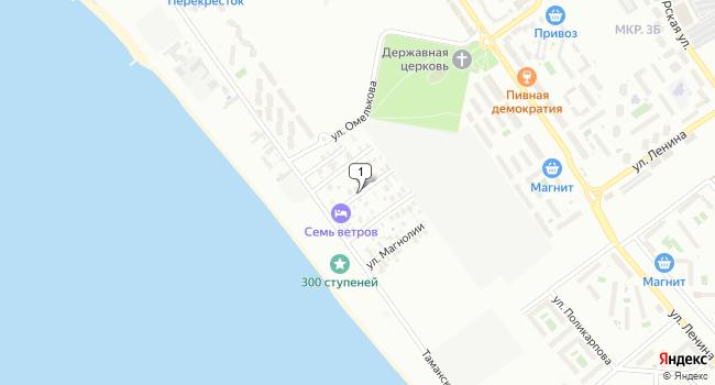 Арендовать коммерческую недвижимость 1600 м<sup>2</sup> в Анапе по адресу Россия, Краснодарский край, Анапа, Пальмовая улица