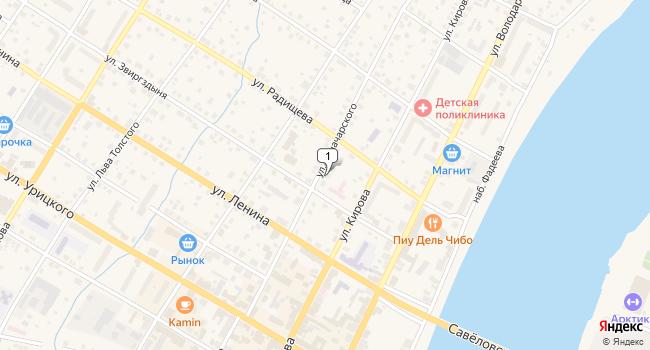 Арендовать офис 1127 м<sup>2</sup> в Кимрах по адресу Россия, Тверская область, Кимры, улица Луначарского, 33