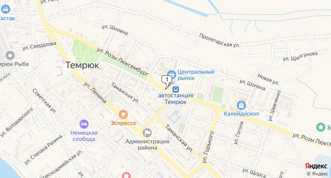 Купить земельный участок 1500 м<sup>2</sup> в Темрюке по адресу Россия, Краснодарский край, Темрюк, улица Розы Люксембург