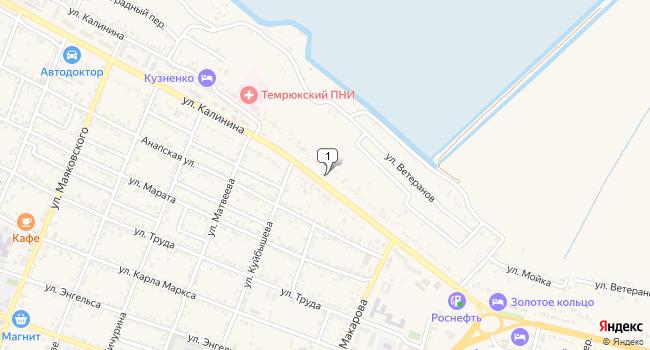 Купить склад 700 м<sup>2</sup> в Темрюке по адресу Россия, Краснодарский край, Темрюк, улица Калинина