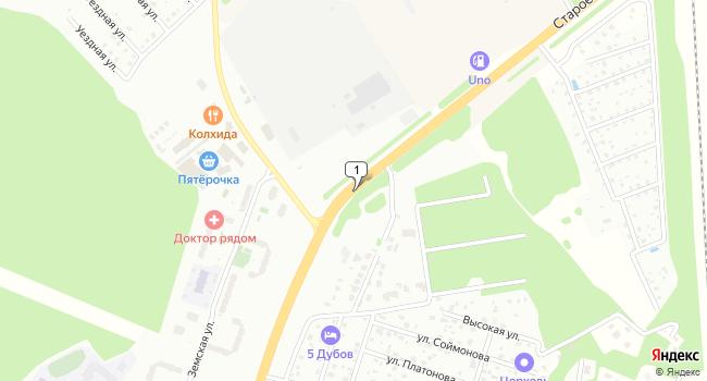 Купить земельный участок 100000 м<sup>2</sup> в Ивантеевке по адресу Россия, Московская область, Старое Симферопольское шоссе