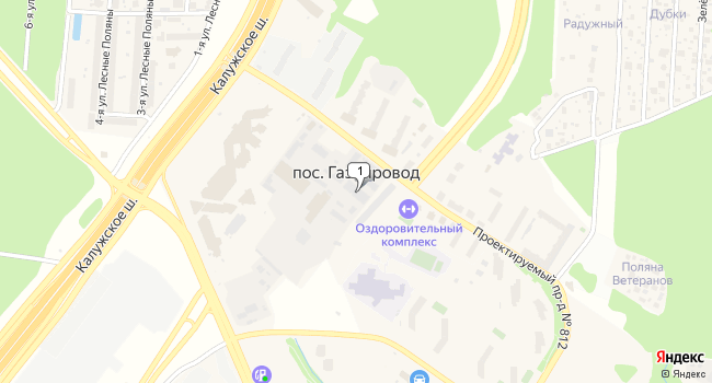 Купить коммерческую недвижимость 220 м<sup>2</sup> в посёлке Газопровод по адресу Россия, Москва, поселение Сосенское, поселок Газопровод, 101к5