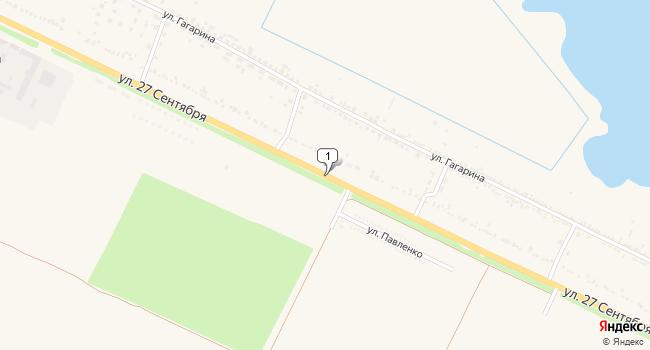 Купить земельный участок 15100 м<sup>2</sup> в Темрюке по адресу Россия, Краснодарский край, Темрюк, поселок Комсомольский, улица 27 Сентября