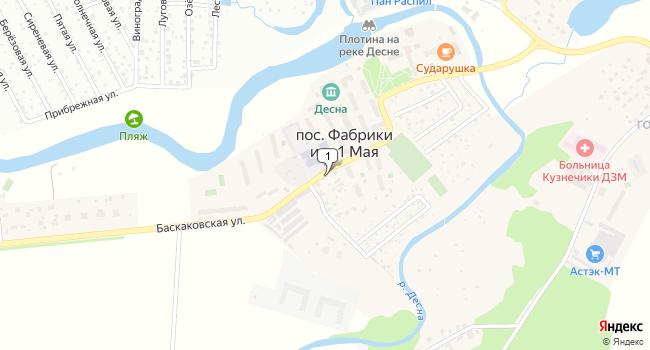 Купить торговую площадь 77 м<sup>2</sup> в посёлке фабрики имени 1 Мая по адресу Россия, Москва, поселение Рязановское, посёлок фабрики имени 1 Мая