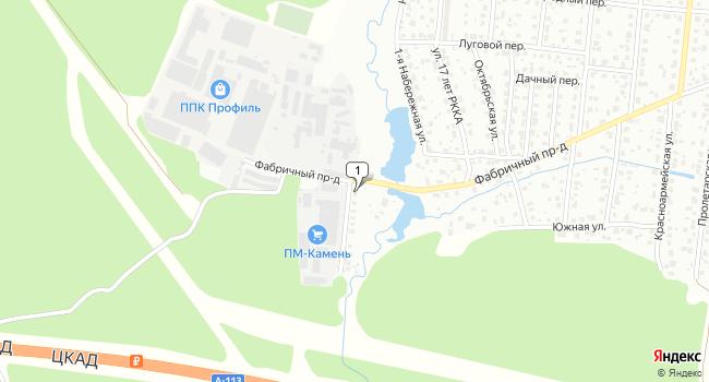 Арендовать склад 1000 м<sup>2</sup> в Климовске по адресу Россия, Московская область, Климовск, Заречная улица, 2