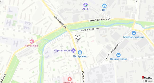 Арендовать торговую площадь 70 м<sup>2</sup> в Москве по адресу Россия, Москва, Онежская улица, 20