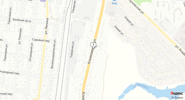 Арендовать склад 1260 м<sup>2</sup> в Климовске по адресу Россия, Московская область, Климовск, Климовская улица