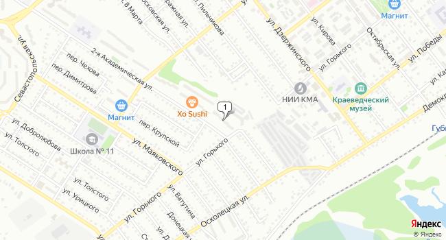 Купить офис 73 м<sup>2</sup> в Губкине по адресу Россия, Белгородская область, Губкин, 2-я Академическая улица, 28