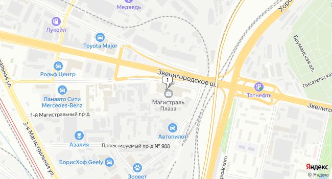 Купить офис 383 м<sup>2</sup> в Москве по адресу Россия, Москва, 1-й Магистральный тупик, 5а