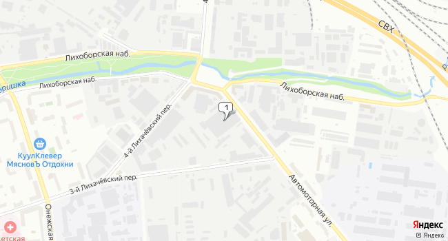 Арендовать склад 504 м<sup>2</sup> в Москве по адресу Россия, Москва, Автомоторная улица, 7