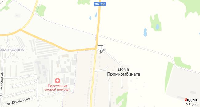 Купить торговую площадь 11590 м<sup>2</sup> в Щекино по адресу Россия, Тульская область, Щекинский район, село Старая Колпна, 3