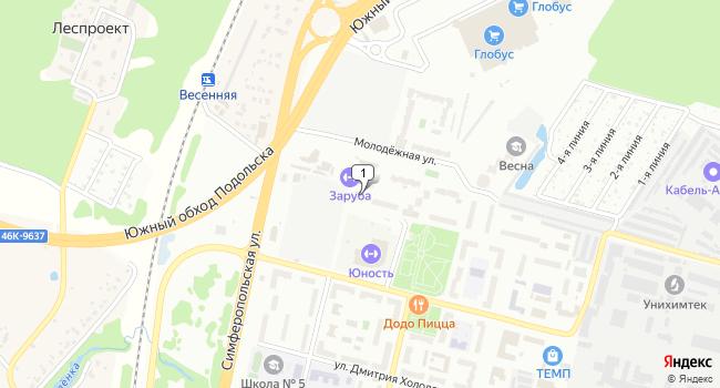Арендовать торговую площадь 3800 м<sup>2</sup> в Подольске по адресу Россия, Московская область, Подольск, микрорайон Климовск, Заводская улица, 24