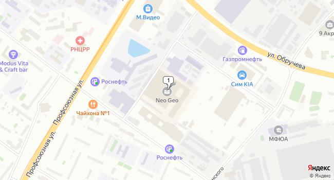 Купить офис 138 м<sup>2</sup> в Москве по адресу Россия, Москва, улица Бутлерова, 17