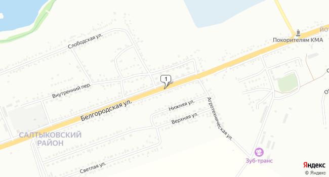 Арендовать торговую площадь 250 м<sup>2</sup> в Губкине по адресу Россия, Белгородская область, Губкин, Белгородская улица