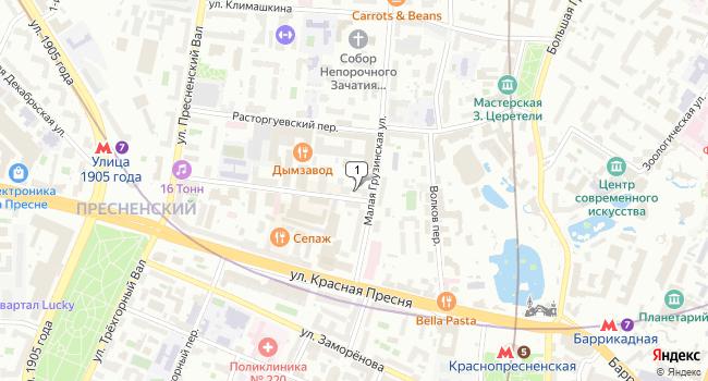 Купить коммерческую недвижимость 262 м<sup>2</sup> в Москве по адресу Россия, Москва, Столярный переулок, 2