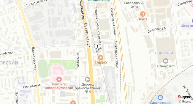 Купить офис 130 м<sup>2</sup> в Москве по адресу Россия, Москва, Большая Новодмитровская улица, 23с1