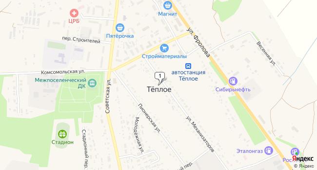 Купить коммерческую недвижимость 1432 м<sup>2</sup> в г. посёлок ского типа Тёплое по адресу Россия, Тульская область, Тёпло-Огарёвский район, посёлок городского типа Тёплое