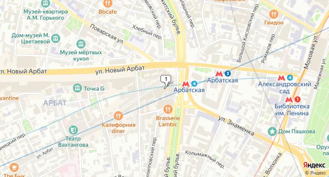 Арендовать отдельное здание 27400 м<sup>2</sup> в Москве по адресу Россия, Москва, улица Арбат, 1