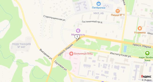 Купить земельный участок 1900 м<sup>2</sup> в Пущино по адресу Россия, Московская область, Пущино, Въездная улица
