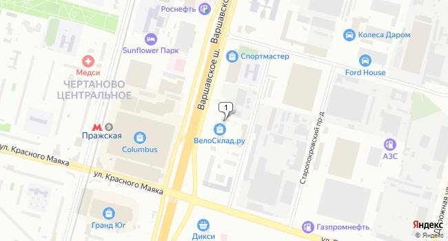 Арендовать офис 41 м<sup>2</sup> в Москве по адресу Россия, Москва, Варшавское шоссе, 129к2с7