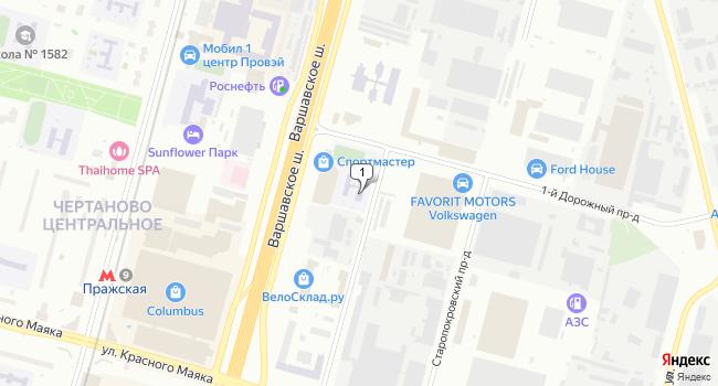 Купить отдельное здание 22000 м<sup>2</sup> в Москве по адресу Россия, Москва, Варшавское шоссе, 129