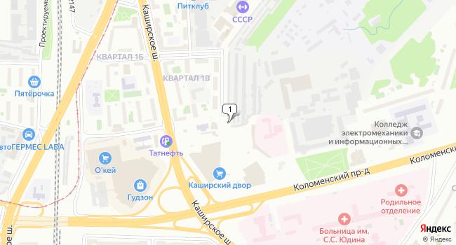 Арендовать офис 100 м<sup>2</sup> в Москве по адресу Россия, Москва, Каширское шоссе, 9Г