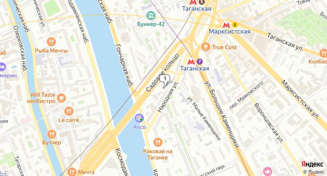 Купить отдельное здание 130 м<sup>2</sup> в Москве по адресу Россия, Москва, Народная улица, 12с2