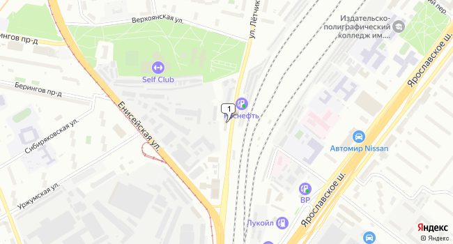 Купить офис 5321 м<sup>2</sup> в Москве по адресу Россия, Москва, улица Летчика Бабушкина, 1к3