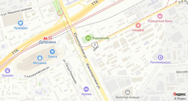 Арендовать офис 65 м<sup>2</sup> в Москве по адресу Россия, Москва, Угрешская улица, 2