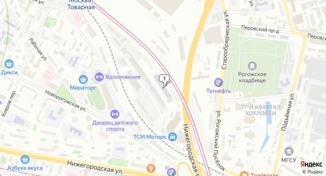 Арендовать офис 303 м<sup>2</sup> в Москве по адресу Россия, Москва, Рабочая улица, 93с2