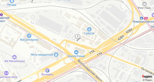 Арендовать офис 64 м<sup>2</sup> в Москве по адресу Россия, Москва, Остаповский проезд, 3с2