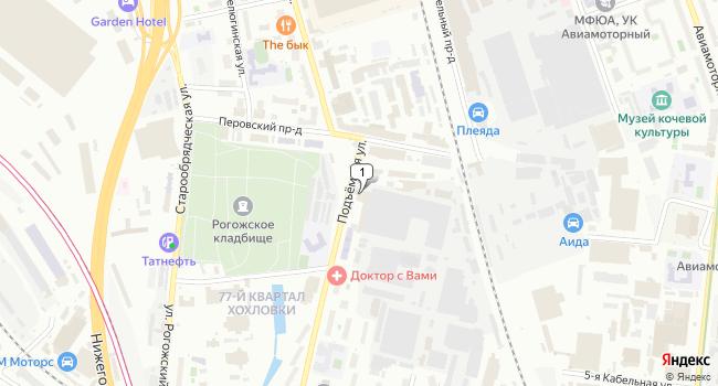 Купить офис 7150 м<sup>2</sup> в Москве по адресу Россия, Москва, Подъемная улица, 14с37