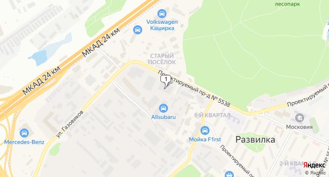 Арендовать офис 425 м<sup>2</sup> в посёлке Развилка по адресу Россия, Московская область, Ленинский район, поселок Развилка, Проектируемый проезд №5538, 7
