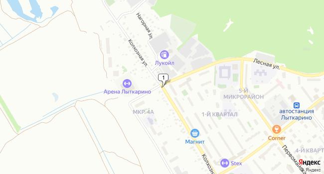 Арендовать офис 450 м<sup>2</sup> в Лыткарино по адресу Россия, Московская область, Лыткарино, Колхозная улица
