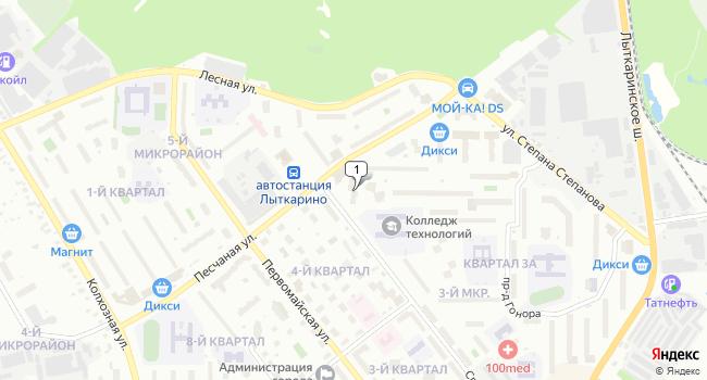 Арендовать торговую площадь 175 м<sup>2</sup> в Лыткарино по адресу Россия, Московская область, Лыткарино, квартал 3А, Спортивная улица, 26