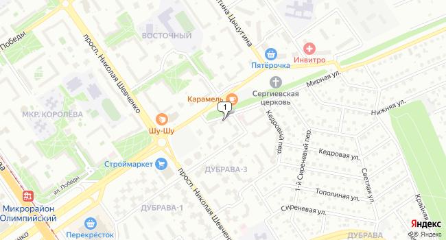Арендовать офис 20 м<sup>2</sup> в Старом Осколе по адресу Россия, Белгородская область, Старый Оскол, микрорайон Дубрава-3, 4