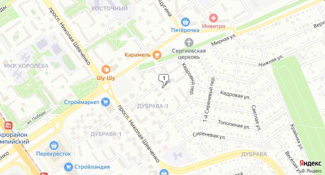 Арендовать офис 51 м<sup>2</sup> в Старом Осколе по адресу Россия, Белгородская область, Старый Оскол, микрорайон Дубрава-3, 36
