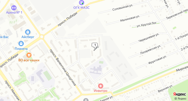 Арендовать офис 95 м<sup>2</sup> в Старом Осколе по адресу Россия, Белгородская область, Старый Оскол, микрорайон Степной