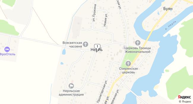 Купить производственное помещение 800 м<sup>2</sup> в Калязине по адресу Россия, Тверская область, Калязинский район, село Нерль