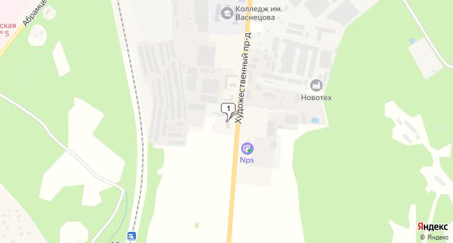 Арендовать производственное помещение 1331 м<sup>2</sup> в Хотьково по адресу Россия, Московская область, Сергиево-Посадский район, Хотьково, Художественный проезд, 3