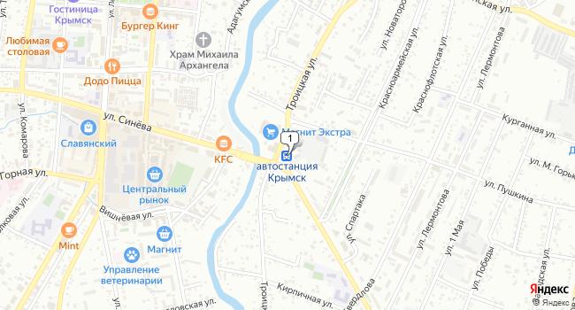 Купить земельный участок 2200 м<sup>2</sup> в Крымске по адресу Россия, Краснодарский край, Крымск, улица Маршала Гречко, 130