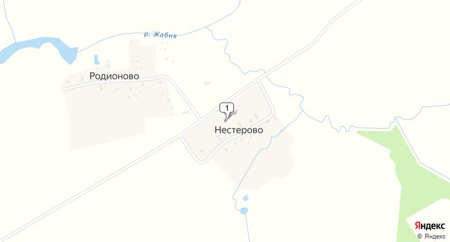 Купить торговую площадь 300 м<sup>2</sup> в Калязине по адресу Россия, Тверская область, Калязинский район, деревня Нестерово