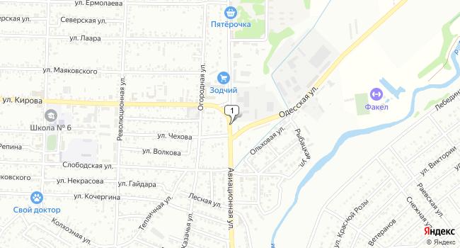 Купить земельный участок 27800 м<sup>2</sup> в Крымске по адресу Россия, Краснодарский край, Крымск, Авиационная улица