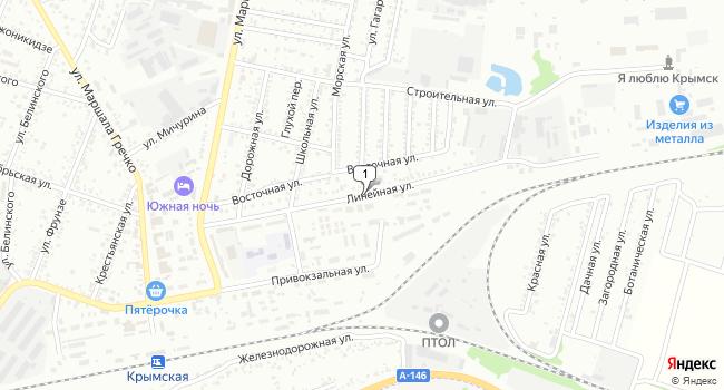 Купить земельный участок 3000 м<sup>2</sup> в Крымске по адресу Россия, Краснодарский край, Крымск, Линейная улица
