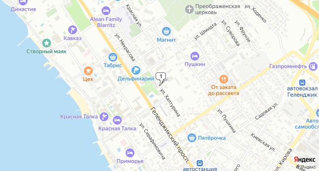 Арендовать коммерческую недвижимость 108 м<sup>2</sup> в Геленджике по адресу Россия, Краснодарский край, Геленджик, улица Халтурина
