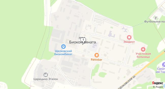 Арендовать склад 14720 м<sup>2</sup> в г. посёлок Биокомбината по адресу Россия, Московская область, городской округ Лосино-Петровский, поселок Биокомбината